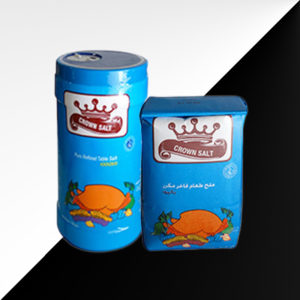 Crown Double purified Table salt