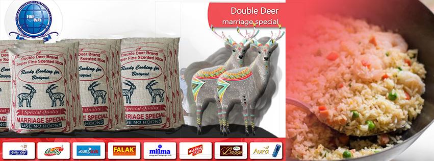 Double deer jeerakasala rice