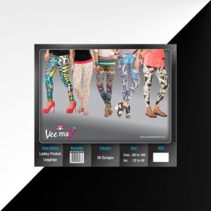 VeeMax Ladies Printed Leggins