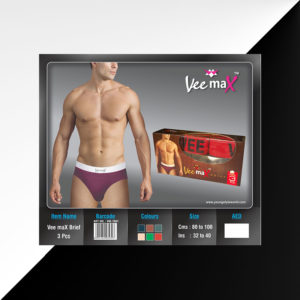 Veemax Brief 3pcs