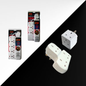 XPO electricals, extension cable, multi plug