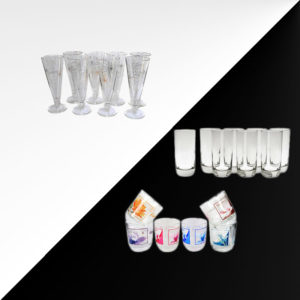 XPO drinking glasses