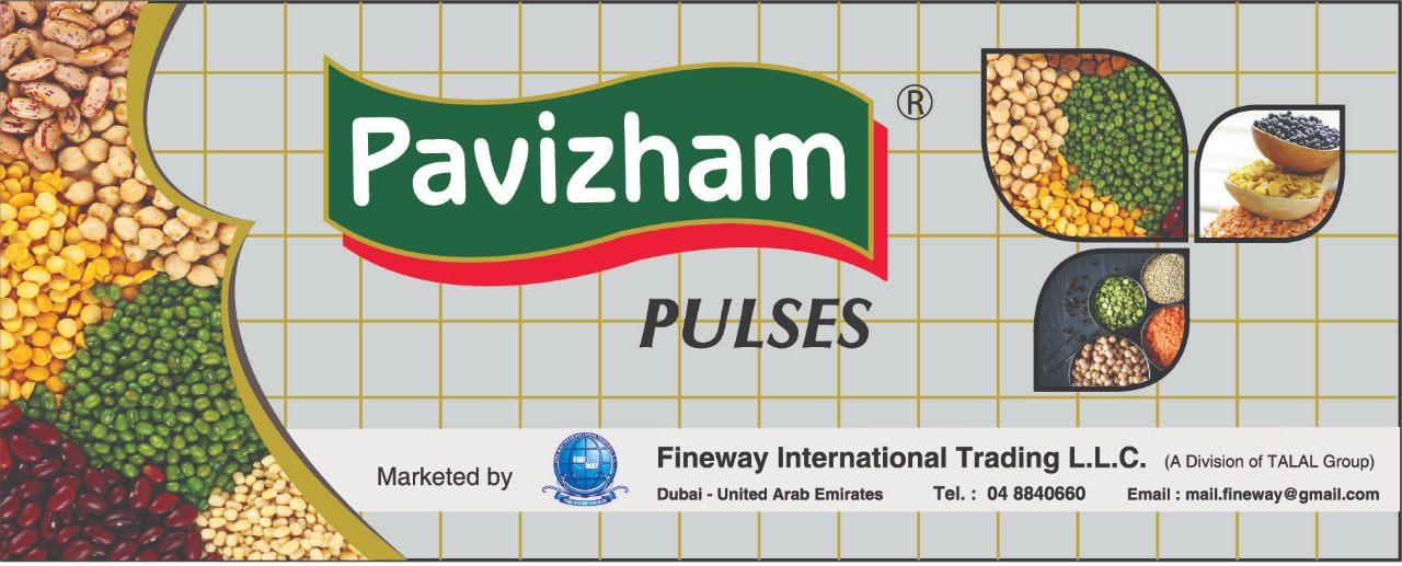 Pavizham Brand Pulses Banner