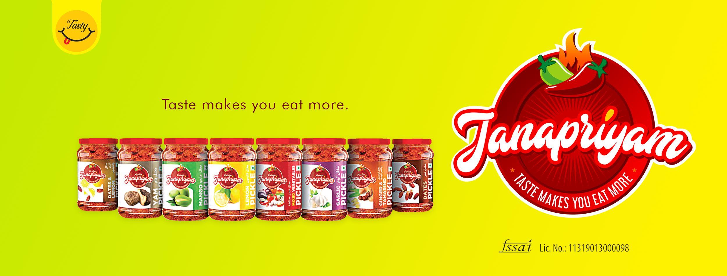 Janapriyam Pickles
